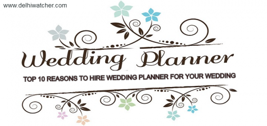 Top 10 Reasons to hire Wedding planner for your wedding